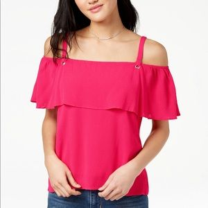 *NWT* The Edit By Seventeen Off-The-Shoulder Top